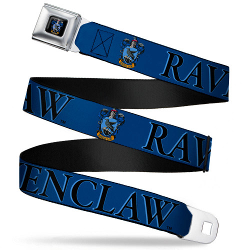 Image Closeup for Harry Potter Seatbelt Buckle Belt - Ravenclaw Crest