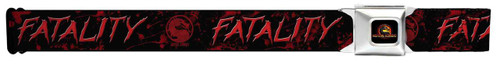 Image for Mortal Kombat Seatbelt Buckle Belt - Fatality