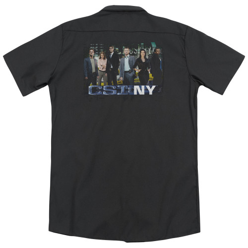 Image for CSI:NY Dickies Work Shirt - Cast