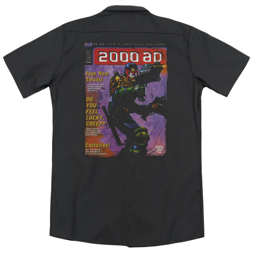 Image for Judge Dredd Dickies Work Shirt - 1067