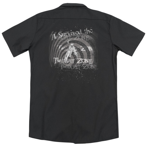 Image for Twilight Zone Dickies Work Shirt - I Survived