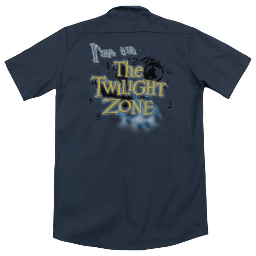 Image for Twilight Zone Dickies Work Shirt - I'm In The Twilight Zone