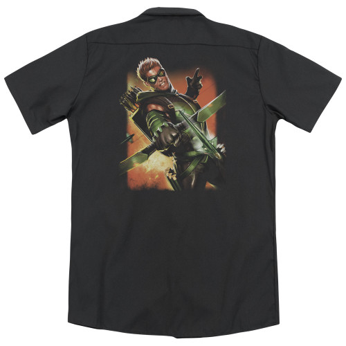 Image for Justice League Of America Dickies Work Shirt - Green Arrow #1