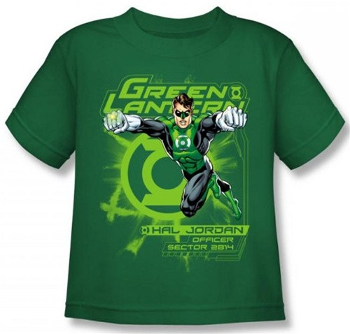 Image for Green Lantern Sector 2814 Kid's T-Shirt