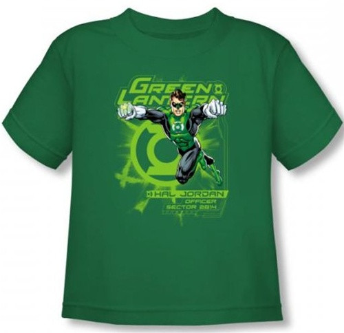 Image for Green Lantern Sector 2814 Toddler T-Shirt