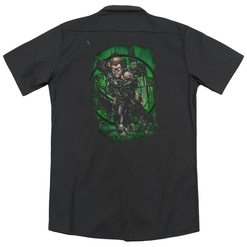 Image for Justice League Of America Dickies Work Shirt - In My Sight