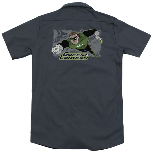 Image for Justice League Of America Dickies Work Shirt - Space Cop