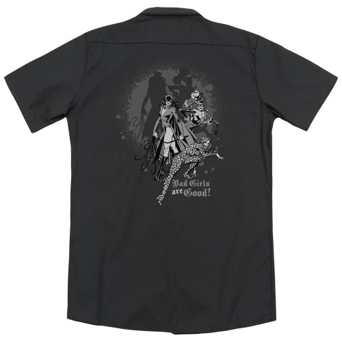 Image for DC Comics Work Shirt - Bad Girls Are Good