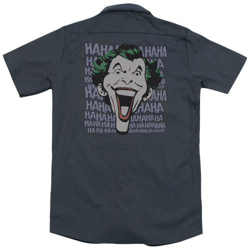 Image for DC Comics Dickies Work Shirt - Dastardly Merriment