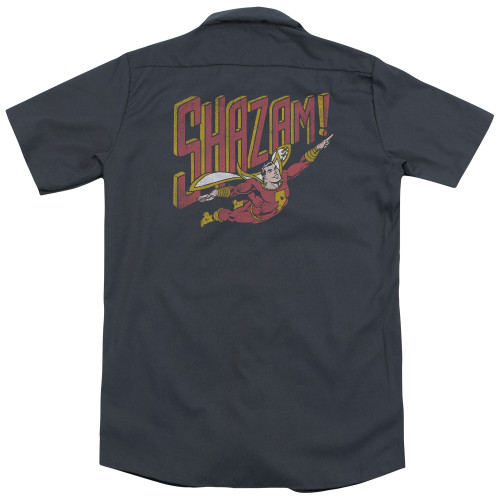 Image for DC Comics Dickies Work Shirt - Retro Marvel