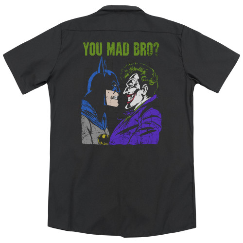 Image for DC Comics Dickies Work Shirt - Mad Bro