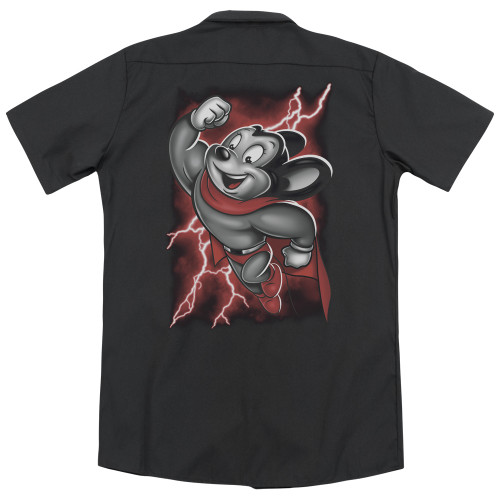 Image for Mighty Mouse Dickies Work Shirt - Mighty Storm