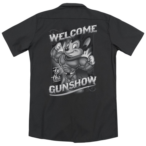 Image for Mighty Mouse Dickies Work Shirt - Mighty Gunshow