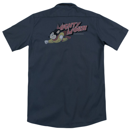 Image for Mighty Mouse Dickies Work Shirt - Mighty Retro