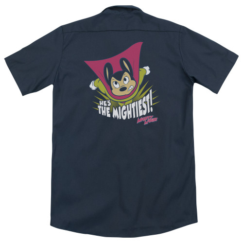 Image for Mighty Mouse Dickies Work Shirt - The Mightiest