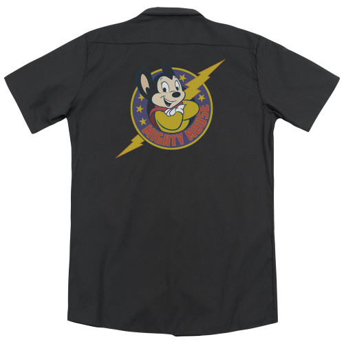 Image for Mighty Mouse Dickies Work Shirt - Mighty Hero