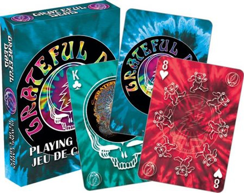 Image for Grateful Dead Playing Cards - Tie Die
