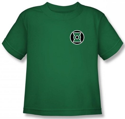 Image for Green Lantern Kyle Reyner Logo Kid's T-Shirt