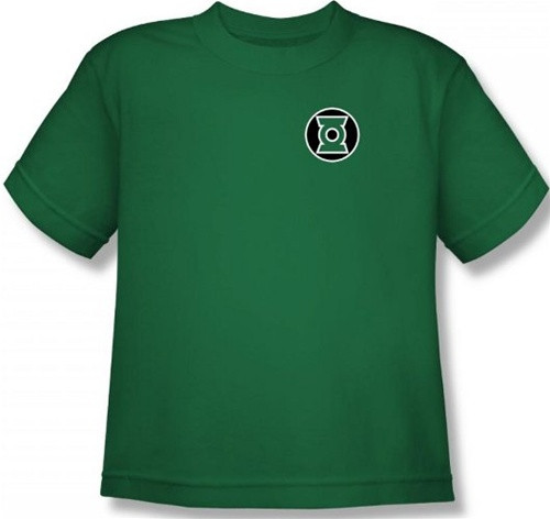 Image for Green Lantern Kyle Reyner Logo Youth T-Shirt