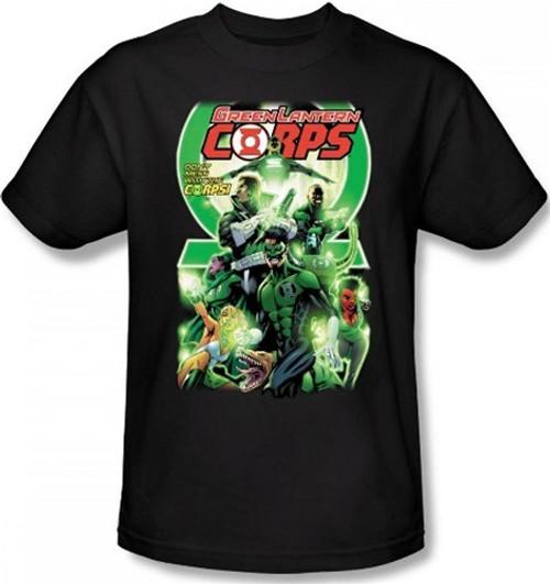 Image Closeup for Green Lantern Corps #25 Logo T-Shirt