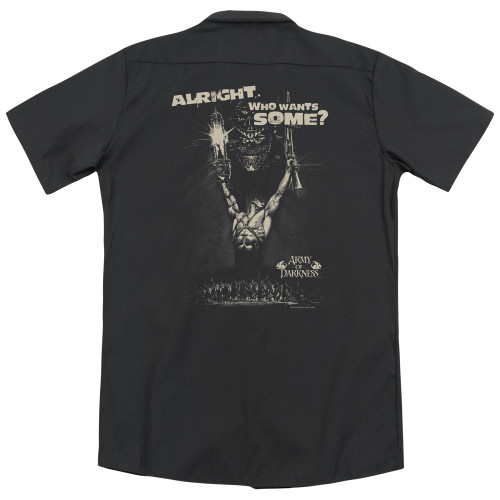 Image for Army Of Darkness Dickies Work Shirt - Want Some
