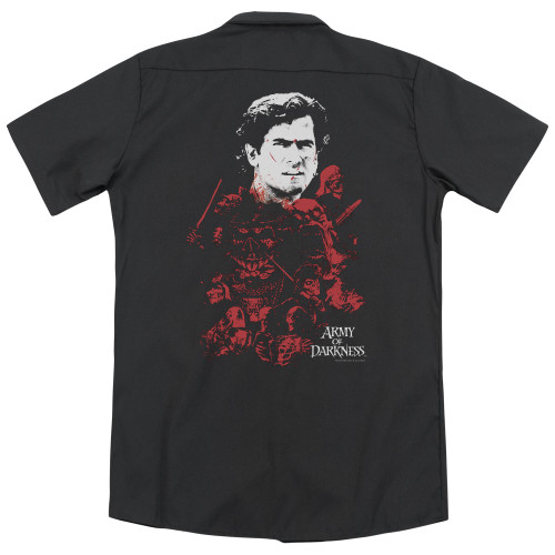 Image for Army Of Darkness Dickies Work Shirt - Pile Of Baddies