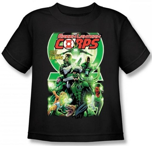 Image for Green Lantern Corps #25 Logo Kid's T-Shirt
