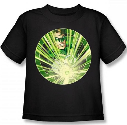 Image for Green Lantern Light 'em Up Kid's T-Shirt