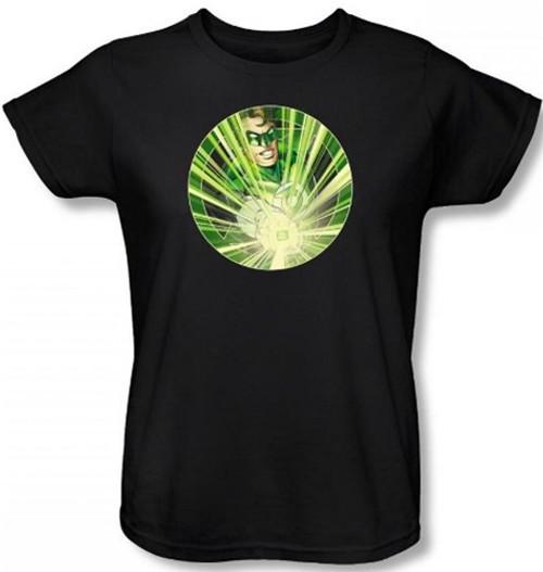Image for Green Lantern Light 'em Up Woman's T-Shirt