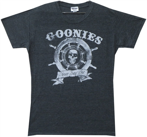 Image for Goonies Never Say Die Girls T-Shirt