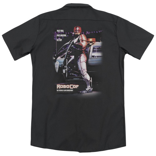 Image for Robocop Dickies Work Shirt - Poster