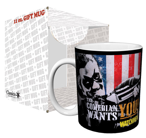 Image for The Watchmen the Comedian Wants You Coffee Mug