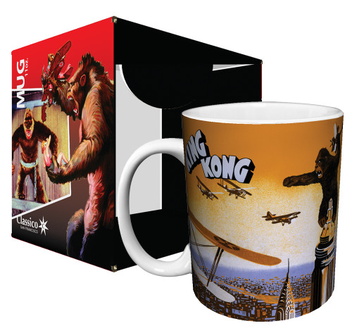 Image for King Kong Empire State Building Coffee Mug