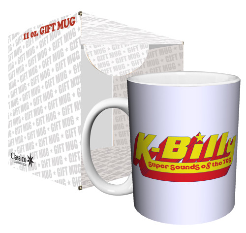 Image for Reservoir Dogs K-Billy Super Sounds of the 70s Logo Coffee Mug