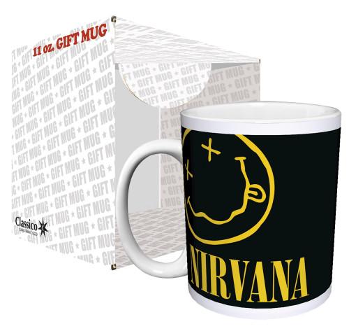Image for Nirvana Smiley Logo Coffee Mug