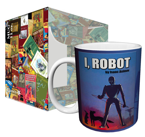 Image for Classic Book Cover I, Robot Coffee Mug