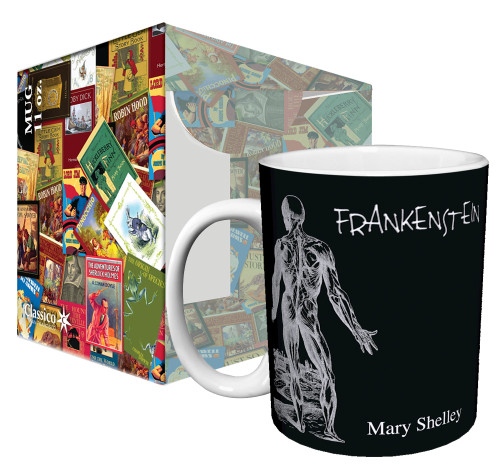 Image for Classic Book Cover Frankenstein Coffee Mug
