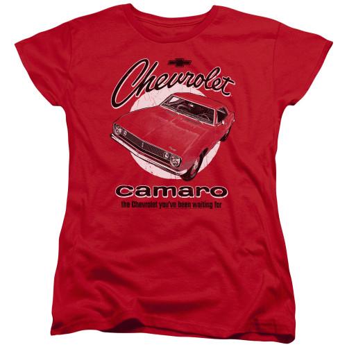 Image for Chevy Woman's T-Shirt - Retro Camaro