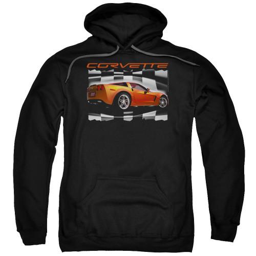 Image for Chevy Hoodie - Orange Z06 Vette