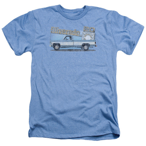 Image for Chevy Heather T-Shirt - Old Silverado