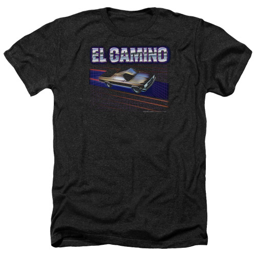 Image for Chevy Heather T-Shirt - El Camino 85