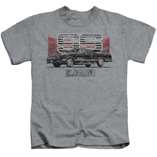 Image for Chevy Kids T-Shirt - El Camino SS Mountains