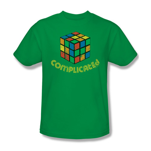 Image Closeup for Complicated T-Shirt