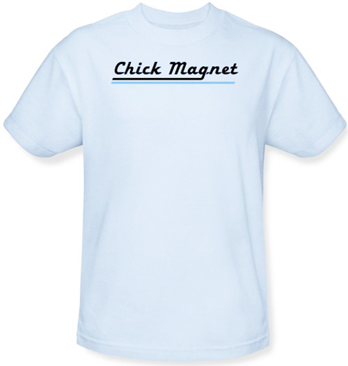 Image Closeup for Chick Magnet T-Shirt
