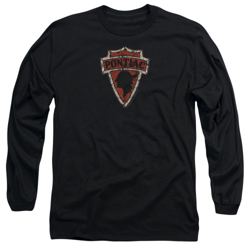 Image for Pontiac Long Sleeve T-Shirt - Early Pontiac Arrowhead