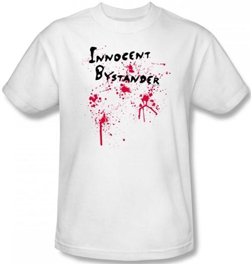 Image Closeup for Innocent Bystander T-Shirt