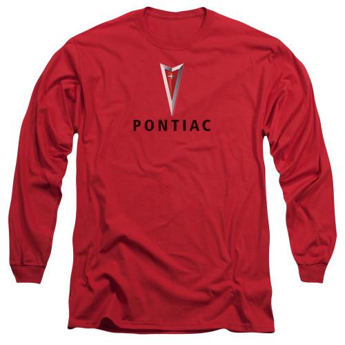 Image for Pontiac Long Sleeve T-Shirt - Centered Arrowhead