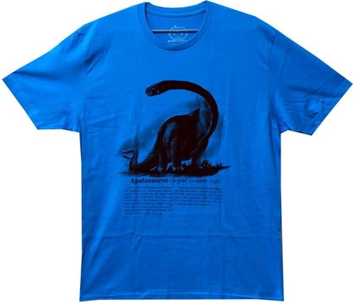Image Closeup for Vintage Apatosaurus T-Shirt