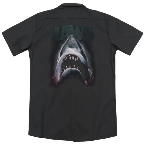Image for Jaws Dickies Work Shirt - Terror In The Deep