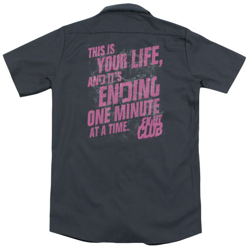 Image for Fight Club Dickies Work Shirt - Life Ending